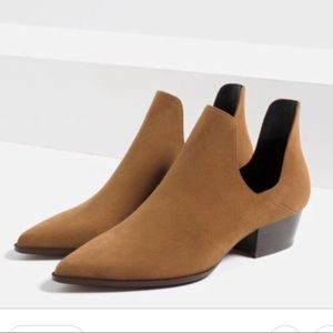 Gently Used Zara Cut Out Booties